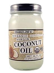 NEW Trader Joe\'s(16 fl oz) Coconut Certified Organic Extra Virgin Coconut Oil by Trader Joe\'s