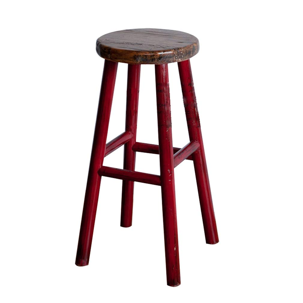 Admirable Amazon Com Barstool Wooden Tall Stools Pub Counter Bar Spiritservingveterans Wood Chair Design Ideas Spiritservingveteransorg