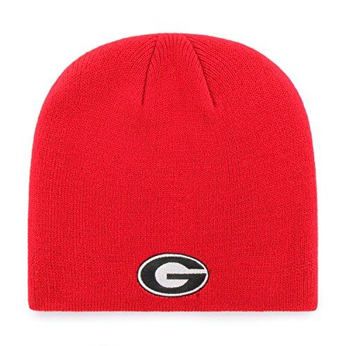 University Georgia Ncaa Bulldogs (OTS NCAA Georgia Bulldogs Beanie Knit Cap, Red, One Size)