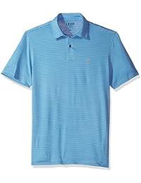 Men's Performance Golf Greenie Stripe Polo