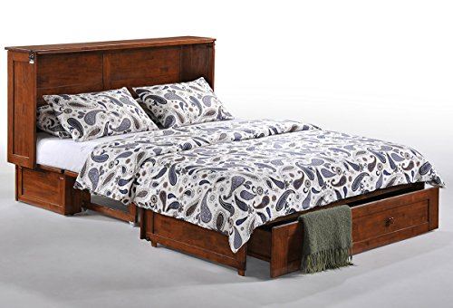 Clover Murphy Cabinet Bed | Cherry