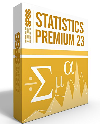 IBM SPSS Statistics Premium Grad Pack Ver 23.0 12 Month License for 2 Computers Windows or Mac (Spss Ibm Software)