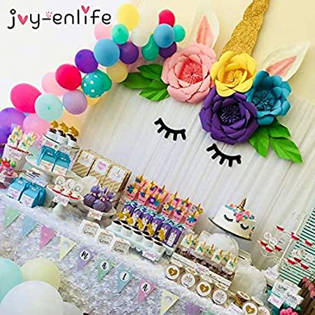 Uniqus Joy-ENLIFE - Decoración de Unicornio para Fiesta de ...