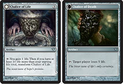 Amazon.com: Magic: the Gathering - Chalice of Life ...