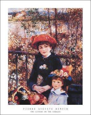 Pierre-Auguste Renoir - Due Sorelle Sulla terrazza Stampa Artistica ...