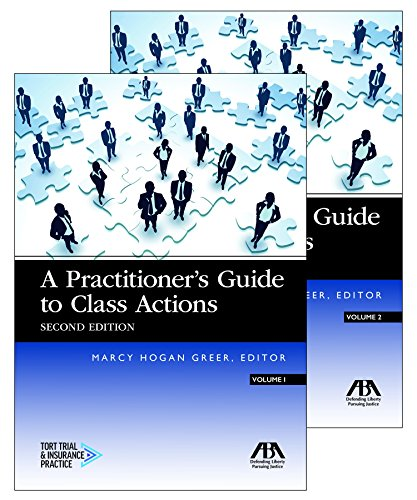 Pdf Law A Practitioner's Guide to Class Actions