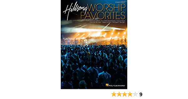 Hillsong Worship Favorites Paperback by Hal Leonard Pu... Piano Solo Songbook