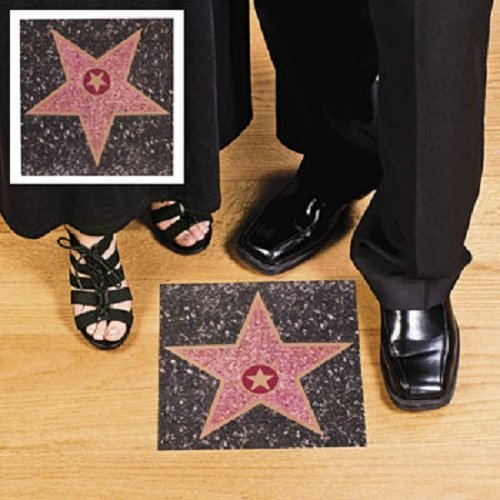 Hollywood Walk of Fame Peel n Place Star Wall Cling for $<!--$5.51-->
