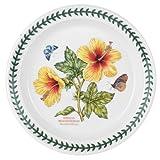 Portmeirion Exotic Botanic Garden Salad Plate with Hibiscus Motif, Set of 6