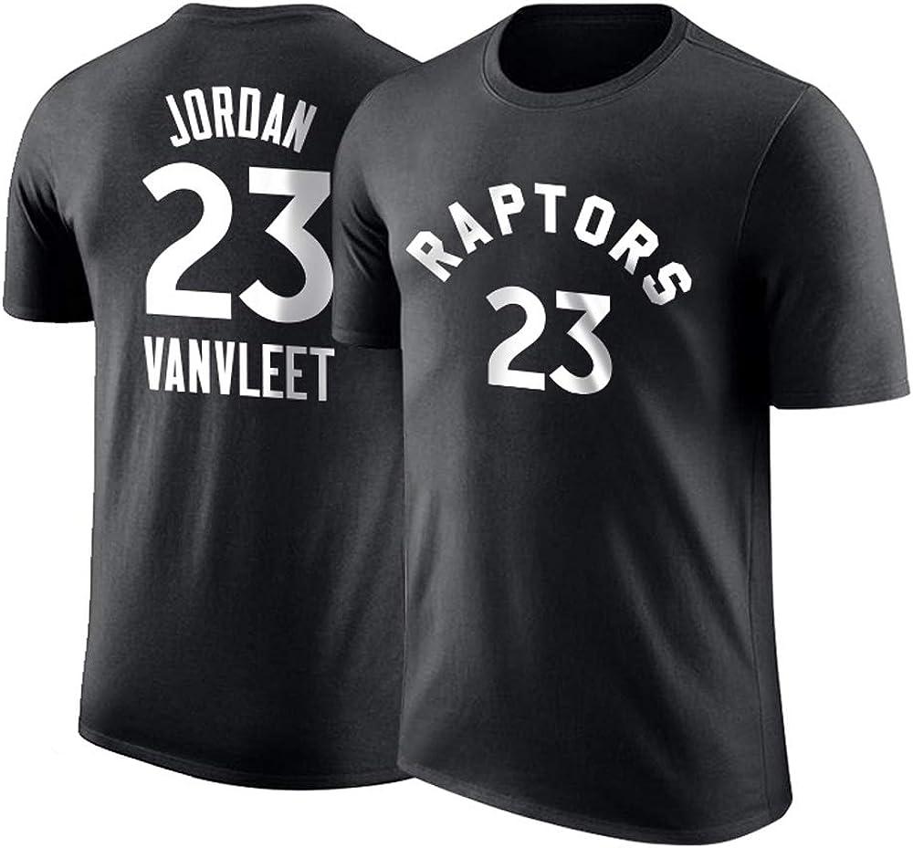 Raptors Van Fleet Spoof Fan Jordan Camiseta de Manga Corta Camiseta de Entrenamiento de Baloncesto: Amazon.es: Ropa y accesorios