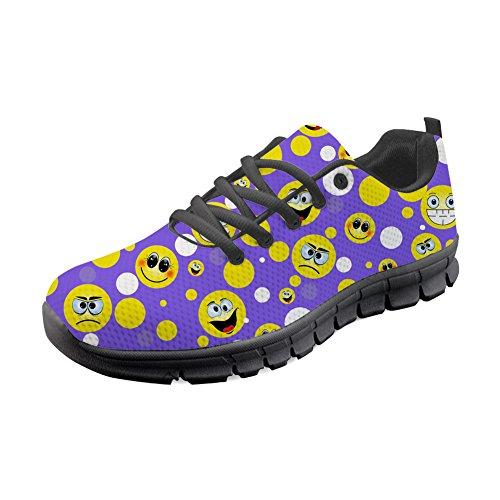 Zapatillas Running de Idea para 6 H357AQ Y Emoji Mujer B Hugs WngwpTIxqW