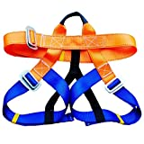 Tsptool Outdoor Rock Climbing Seat Belts Half Body Harness Professional Safety Belt for Aerial Work