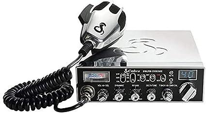 cobra 29ltdchr professional cb radio – chrome finish, adjustable ...  amazon.ca