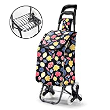 HCC& Dolly Luggage Cart Collapsible Non-slip Handle Climb the stairs Multifunction Portable Shopping cart