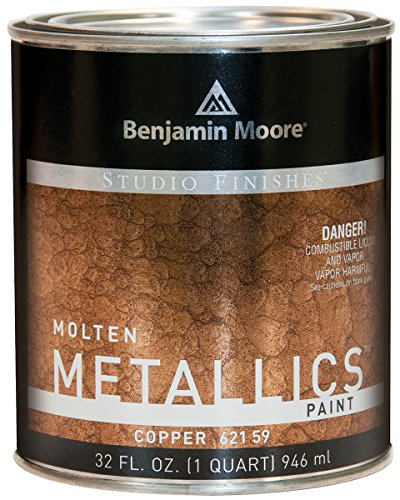 Metallic Wall (Studio Finishes Molten Metallics - Quart (Copper))