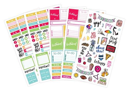 Bloom Planners Planner Sticker Sheets