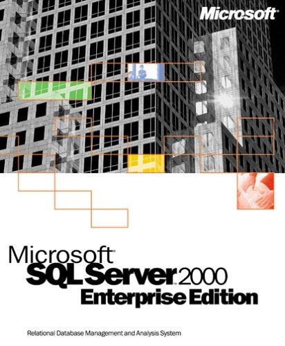 Microsoft SQL Server 2000 Enterprise Edition Competitive Upgrade (25-client) [Old Version]