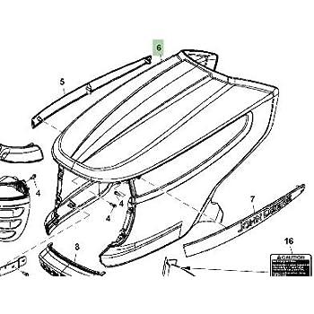 Amazon Com John Deere Original Equipment Hood M152313 Garden