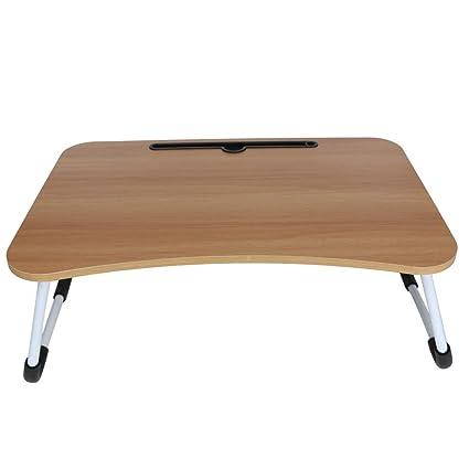 Lucoo - Bandeja de escritorio para ordenador y cama, plegable ...