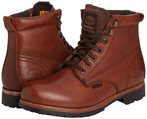 Dockers 35JO005 - Botas de cuero para hombre marrón - Braun (braun 300)
