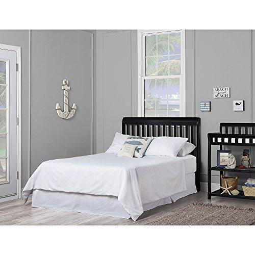 51VV29I8AlL - Dream On Me, Ashton 5-in-1 Convertible Crib, Black