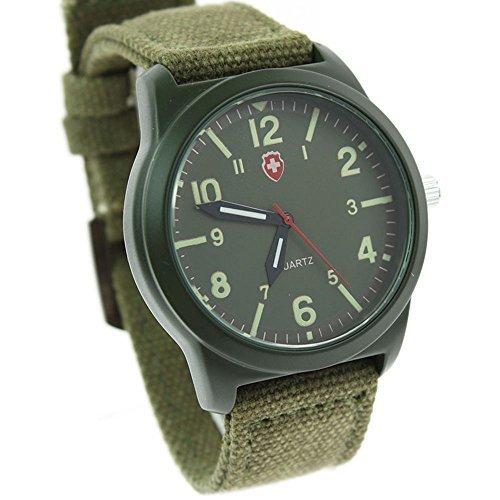itemstoday-boys-and-girls-quartz-swiss-army-canvas-wrist-watch-luminous-dial