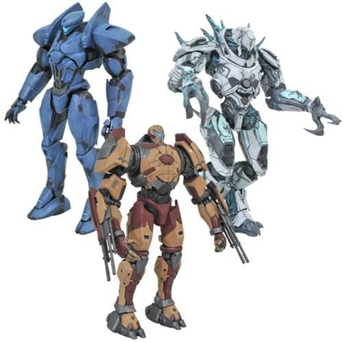 "Jaeger Guardian Bravo Pacific Rim Uprising Select 7/"" Action Figure Series 2"