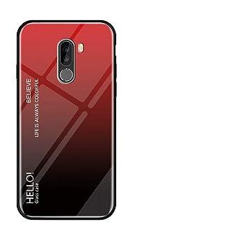 Yadasaro Funda Xiaomi Pocophone F1, [Anti-Rasguño] [ Anti ...