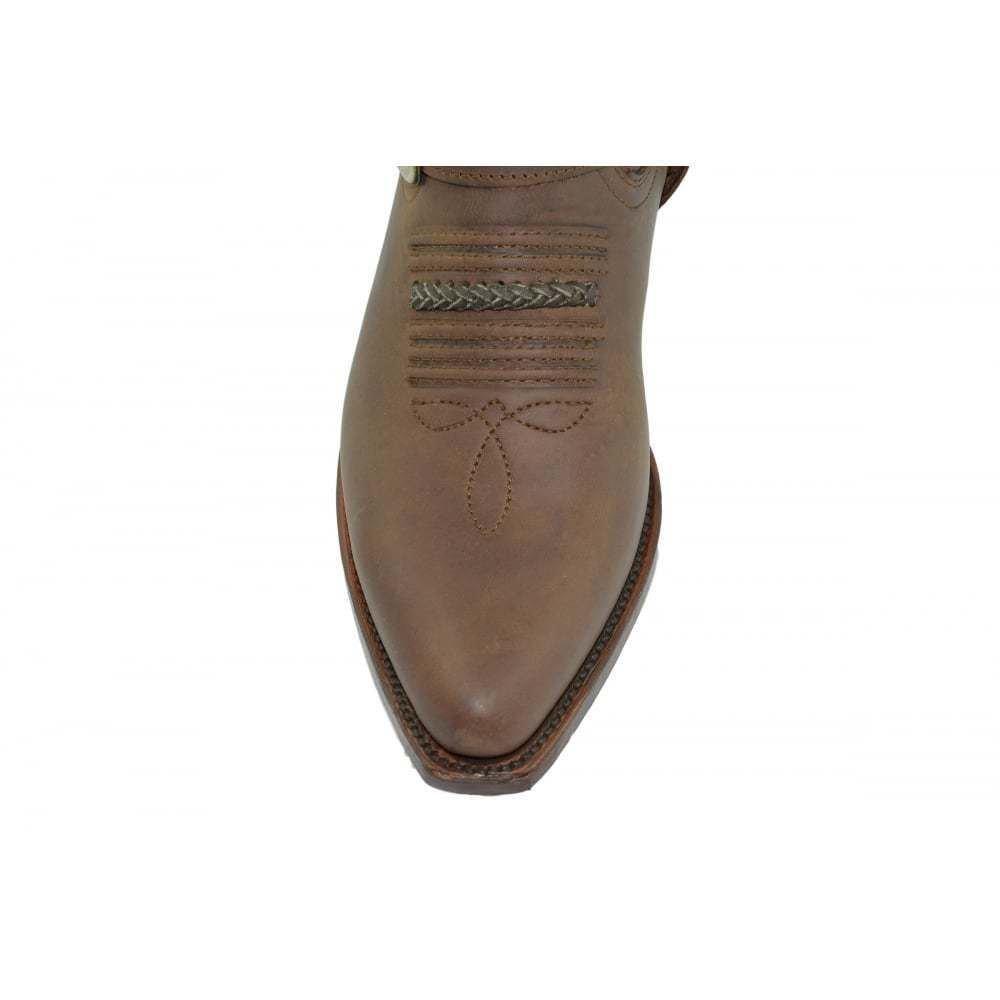 LOBLAN 2476 Loblan Größe 42 Stiefel Braun Westernstiefel Damen und und und Herren braun Biker stiefel 0ac6b3
