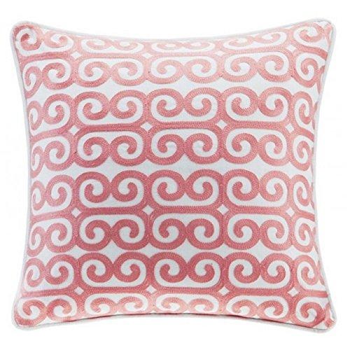 Echo Design Avalon - Cojín Cuadrado de algodón, 40 x 40 cm ...