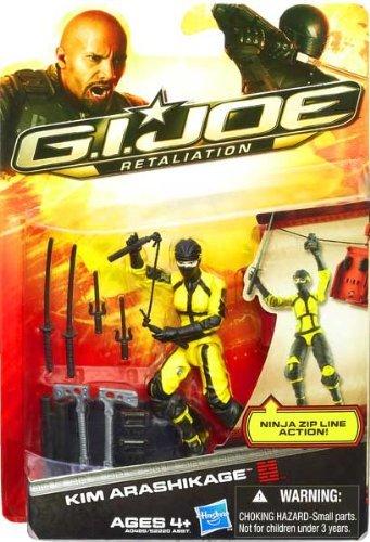 G.I. Joe Retaliation Kim Arashikage Figure 3.75 Inch (Best Gi Joe Figures)