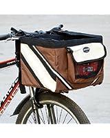 Olayer Petit panier de transport pour animaux pour guidon de vélo Avec poches pour gourmandises pour chien