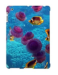Ideal Letteredor Case Cover For Ipad 2/3/4(purple Jelly Fish), Protective Stylish Case