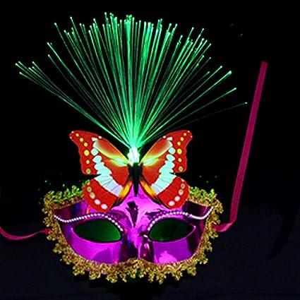 TANG Mascara De Disfraces De Halloween La Mitad De La Cara La Máscara La Máscara De
