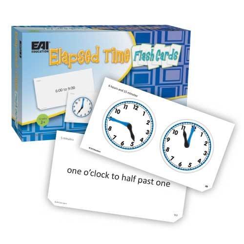 - EAI Education Elapsed Time Flash Cards