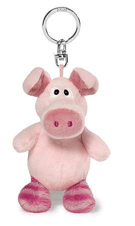 NICI - Bean Bag, llavero cerdito, color rosa, 10cm (39132)