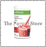Herbalife Formula 1 Shake Nutritional Mix - 500 Grams - Healthy F1 Nutritional Meal Replacement Protein Powder Diet - Weight Loss Supplements for Men and Women (Strawberry)
