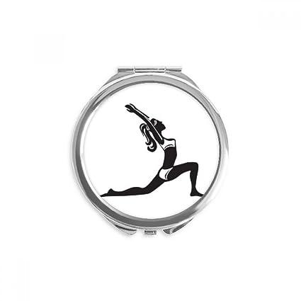 DIYthinker Yoga mantenerse sano que estira la silueta espejo ...