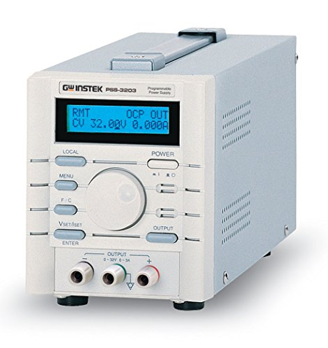 Gpib Power Supply - GW Instek PSS-2005 Single Output Programmable DC Power Supply, 0-20 Volts, 0-5 Amps, 100 Watts