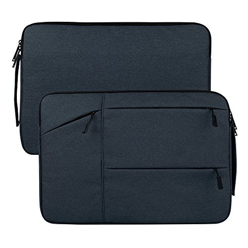 AmigosLive 15 Inch Laptop Sleeve, Portable Handle Protective Notebook Case Bag for 14
