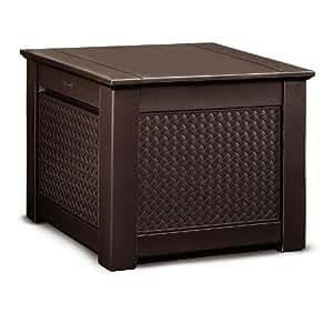 Amazon Com Rubbermaid Cube Patio Chic Outdoor Storage