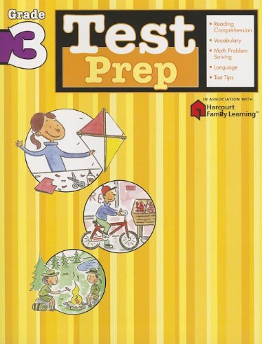 Download Test Prep: Grade 3 (Flash Kids Harcourt Family Learning) pdf epub
