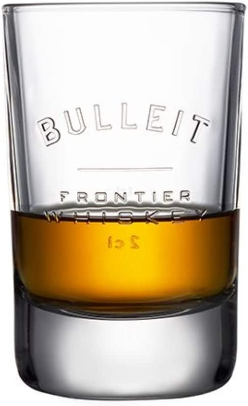 Bulleit Bourbon Whiskey Tumbler Glass