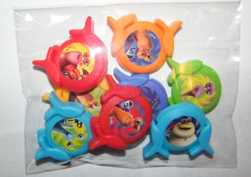 Dreamworks Turbo The Snail Toys Deluxe Party Favors Set of ...