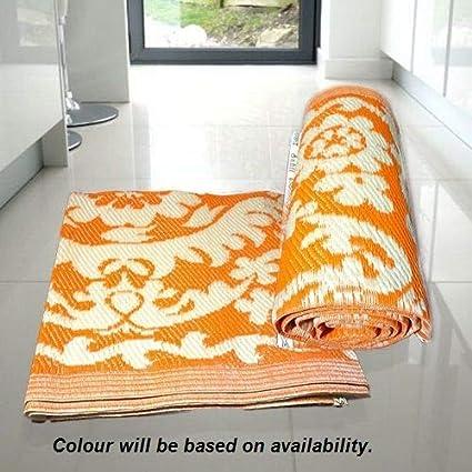 Truvic Quality Store Plastic Floor Mat (Multicolor)