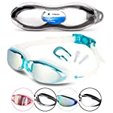 i-Sports Pro Anti-Fog, UV Protected Swim Goggle, Blue