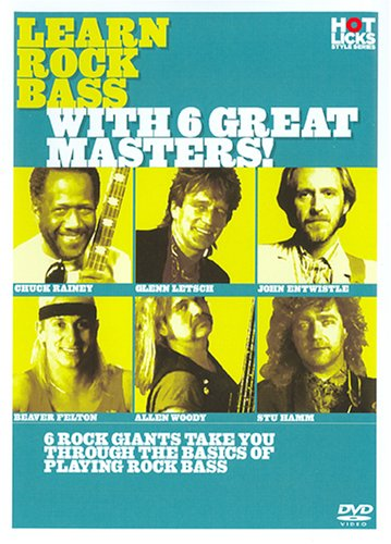 Learn Rock Bass With 6 Great Masters! (Star Bass Series)