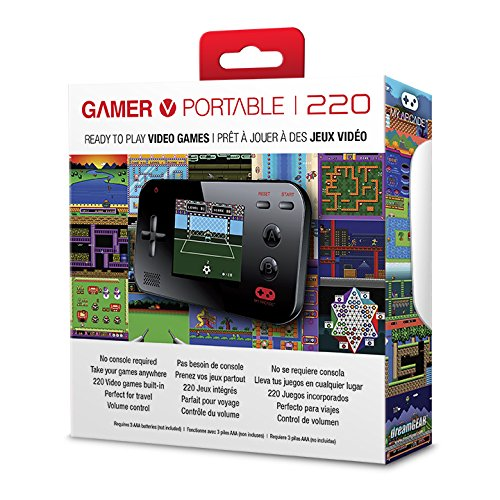 my arcade gamer v portable gaming system 220 built in