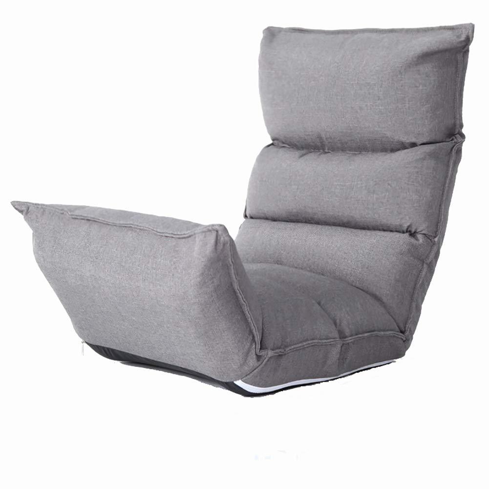 Sofá Cama Lazy Sofá reclinable de Tela Lavable y Plegable ...