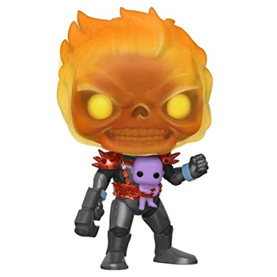 Marvel Funko Cosmic Ghost Rider with Baby Thanos LA Comic Con Exclusive Pop 518: Toys & Games